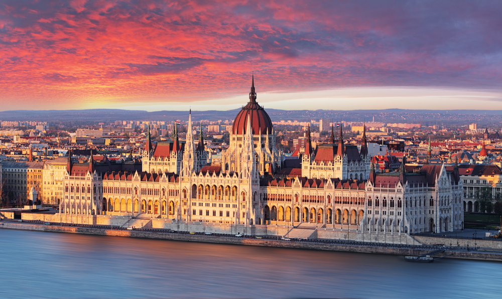 Although titled Prague, the novel is actually set in beautiful Budapest.