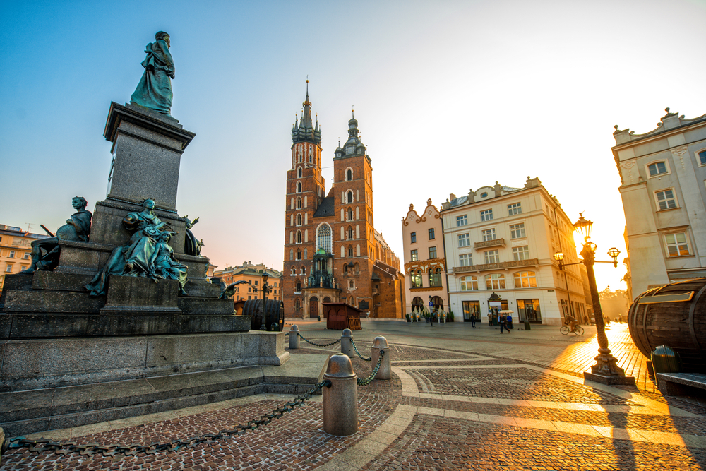 Krakow without crowds
