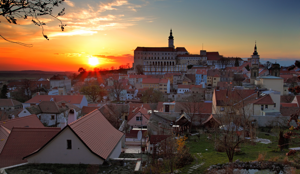 You can enjoy longer days in small town of Mikulov