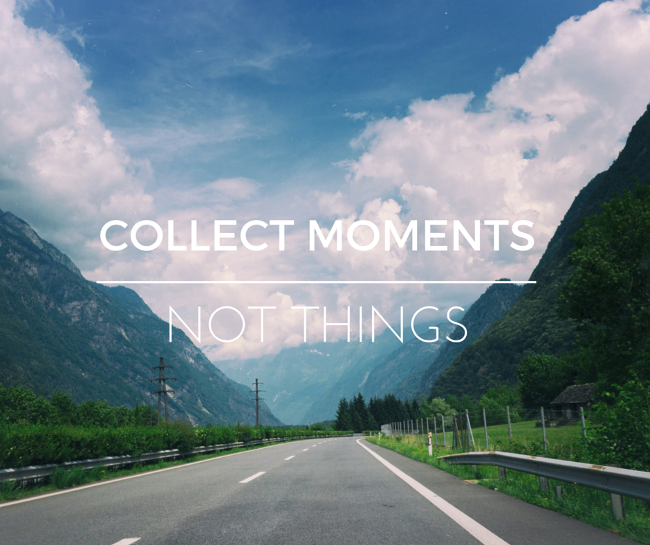 Collect moment,.