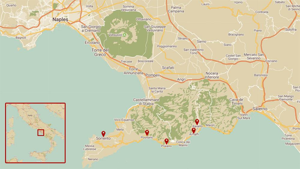 Where To Stay On The Amalfi Coast Sorrento Positano Praiano Or
