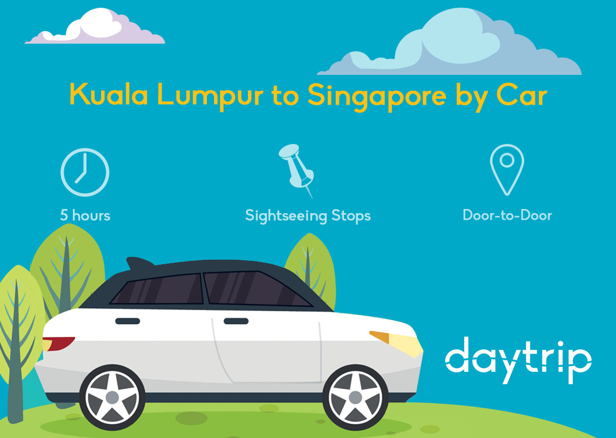 Kuala Lumpur to Singapore by Taxi / Car