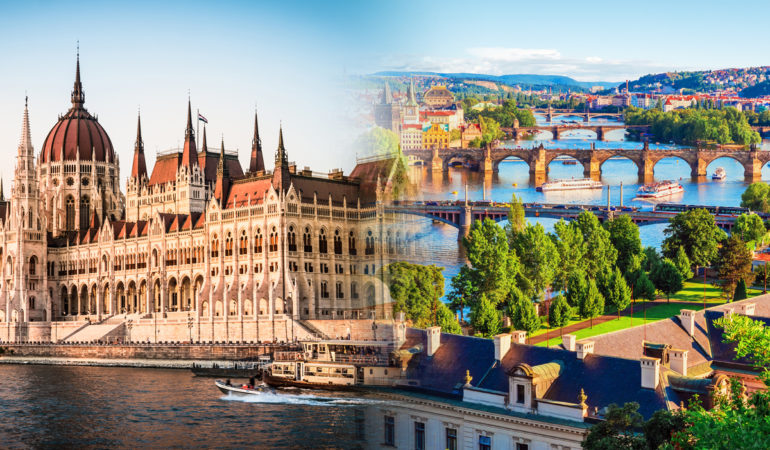 How to get from Prague to Budapest