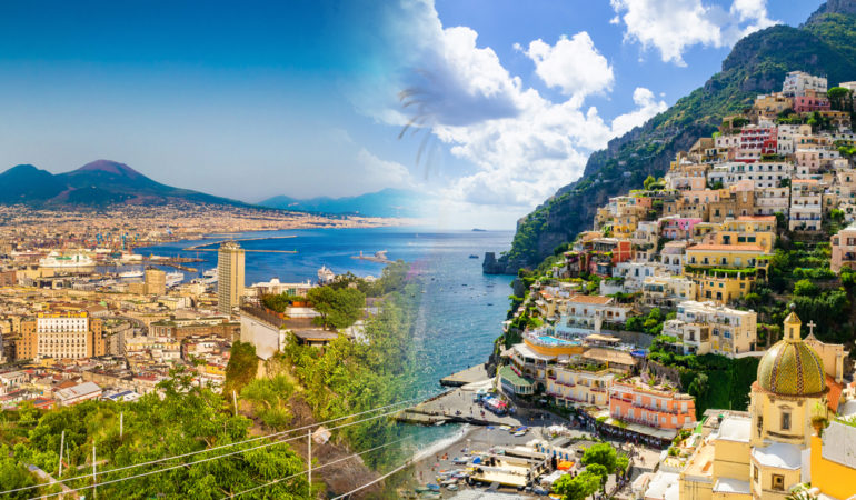 How to get from Naples to Positano