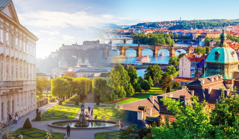 How to get from Salzburg to Prague