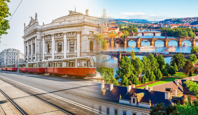How to get from Vienna to Prague
