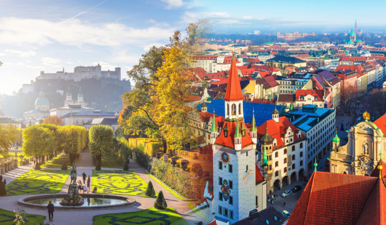 How to get from Salzburg to Munich