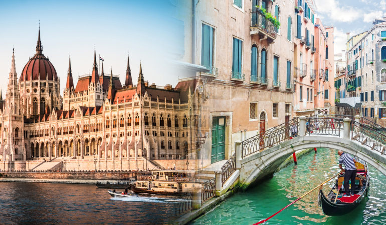 How to get from Budapest to Venice
