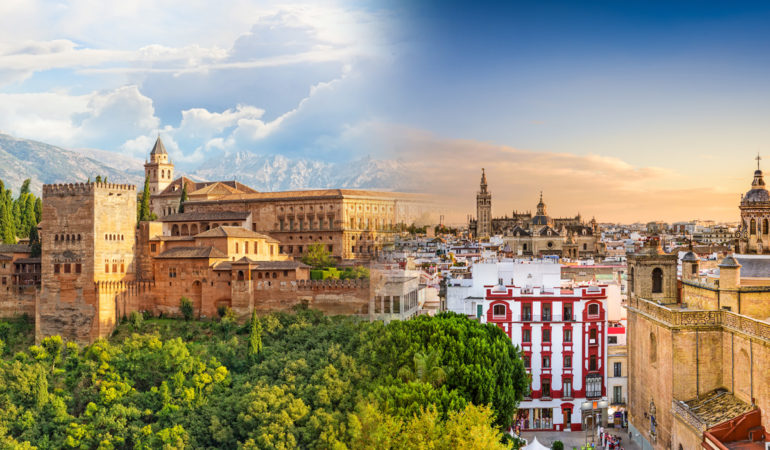 How to get from Seville to Granada