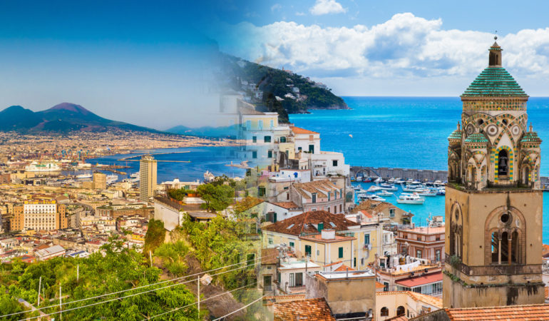 How to get from Amalfi to Naples